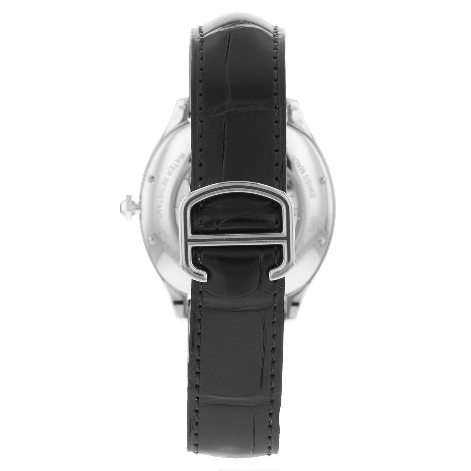 Cartier Drive de Cartier watch Steel, leather