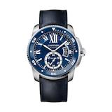 Cartier Calibre De Cartier Diver Watch, 42mm, Steel, Rubber