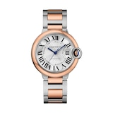 Cartier Ballon Bleu De Cartier Watch 36mm, Automatic Movement, Rose Gold, Steel