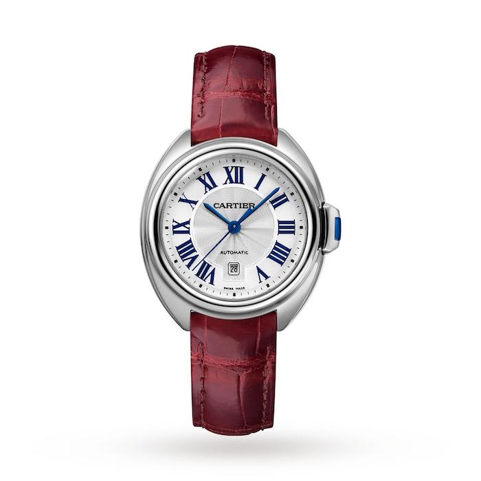 Cartier Clé De Cartier Watch 31mm, Automatic Movement, Steel