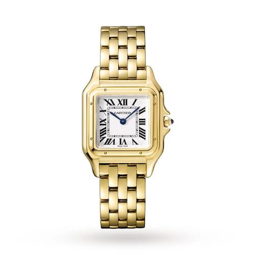 Panthère de Cartier watch Medium model, yellow gold