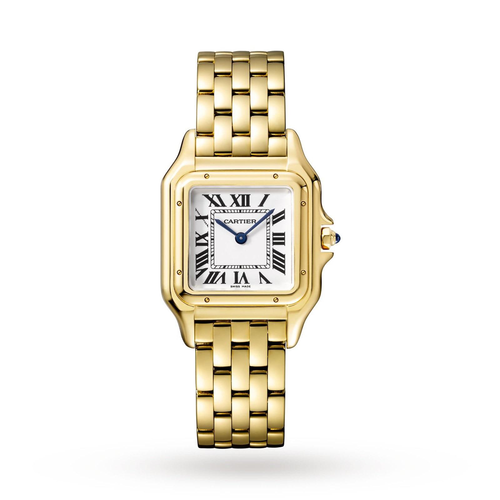 Cartier Panthère de Cartier watch Medium model, yellow gold