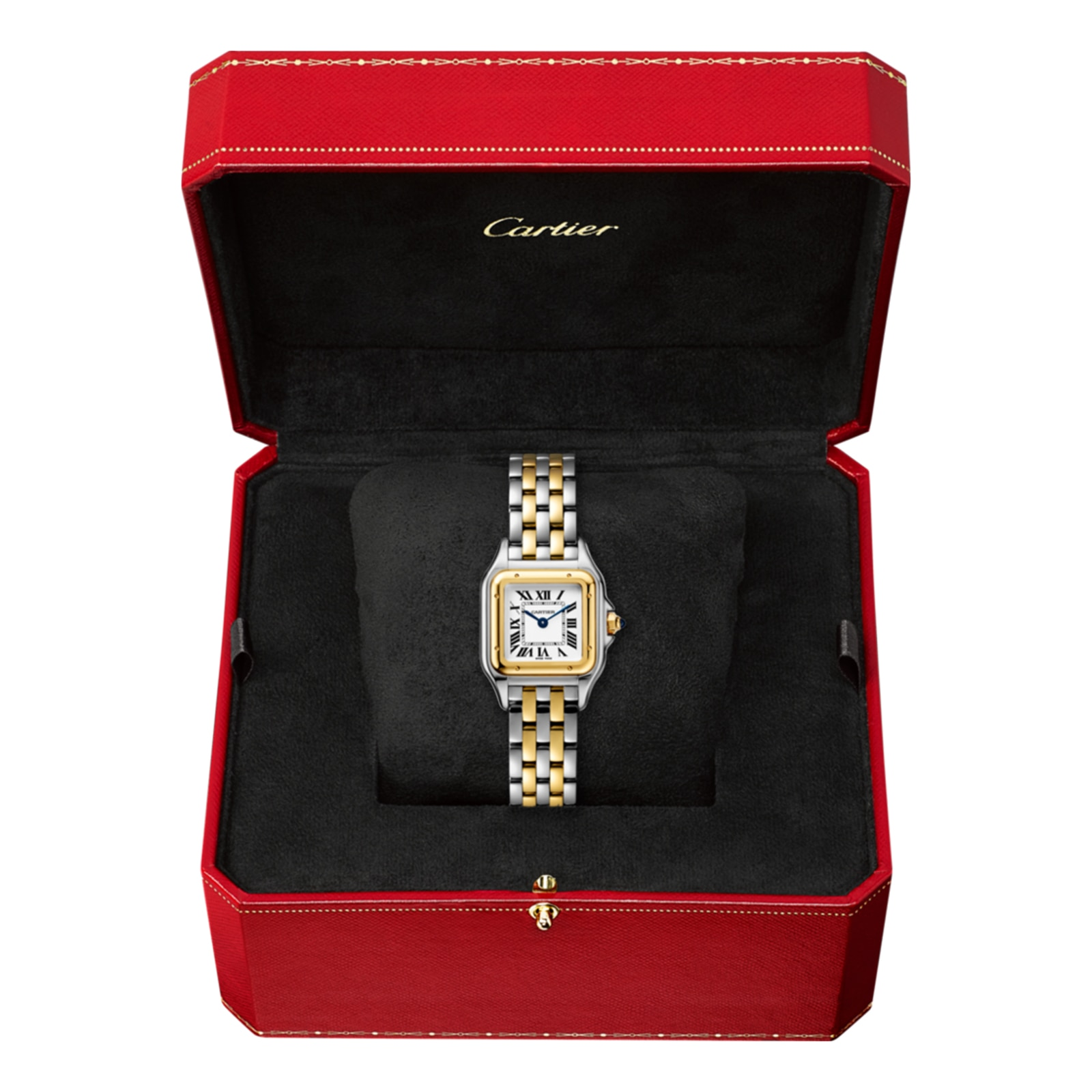 Cartier Panthère de Cartier watch, Small model, yellow gold and steel