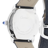 Cartier Montre Ronde Solo de Cartier, 29mm, steel, leather