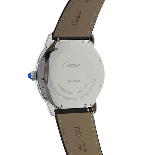 Montre Ronde Solo de Cartier, 42mm, steel, leather