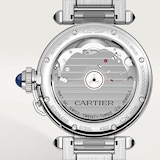 Cartier Pasha De Cartier Watch 35mm, Automatic Movement, Steel, Interchangeable Metal And Leather Straps