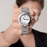 Cartier Pasha De Cartier Watch 35mm, Automatic Movement, Steel, Interchangeable Metal And Leather Straps