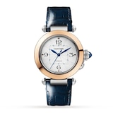 Cartier Pasha de Cartier 35 mm, automatic movement, 18K rose gold and steel, interchangeable metal and leather straps