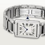 Cartier Tank Must de Cartier, Large model, quartz movement, steel