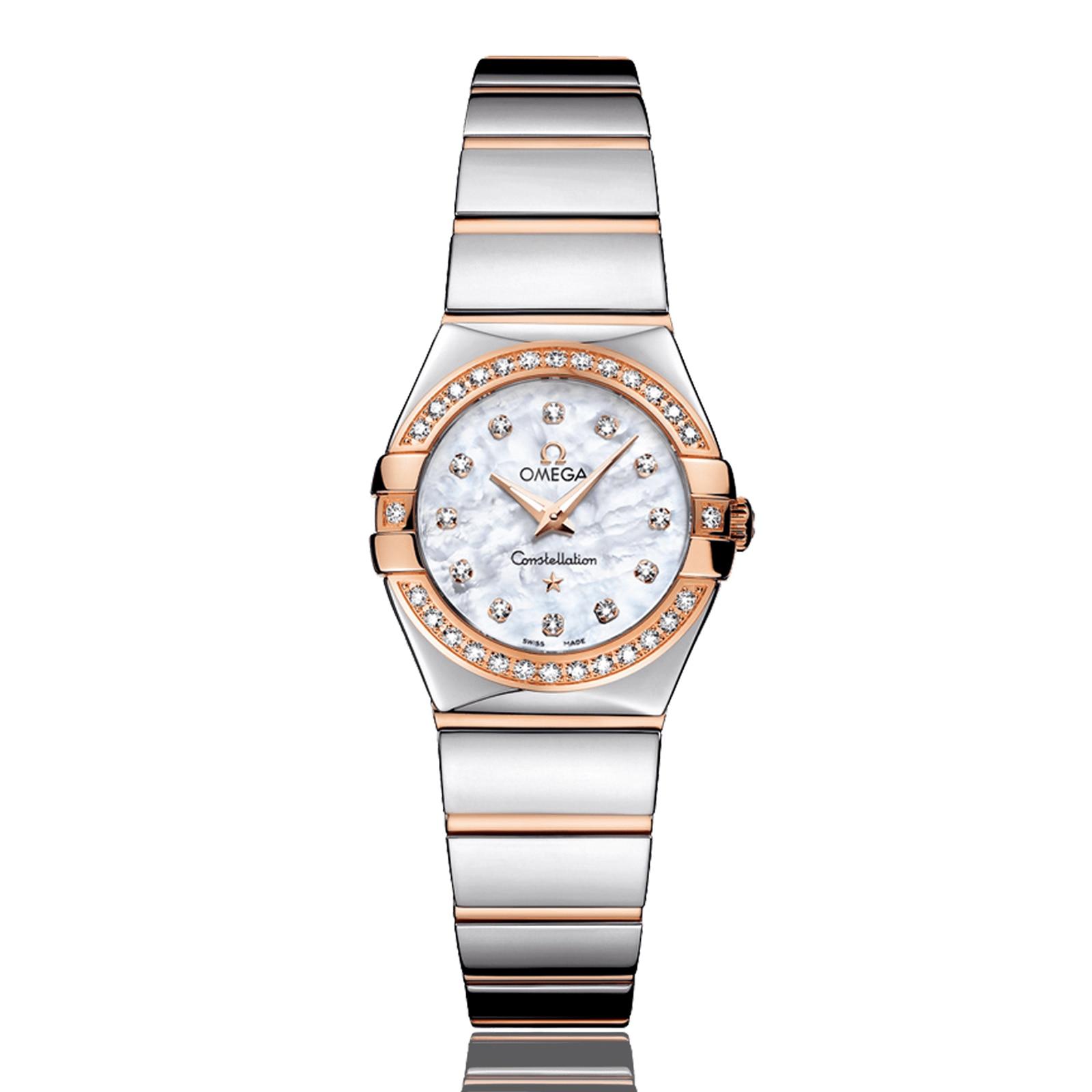 Omega Constellation Ladies 18ct Rose Gold Ladies Watch