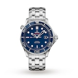 Omega Seamaster 300M 41mm Mens Divers Watch Blue Dial Mens Watch