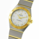 Omega Constellation Ladies 24mm Quartz Diamond Dot Ladies Watch