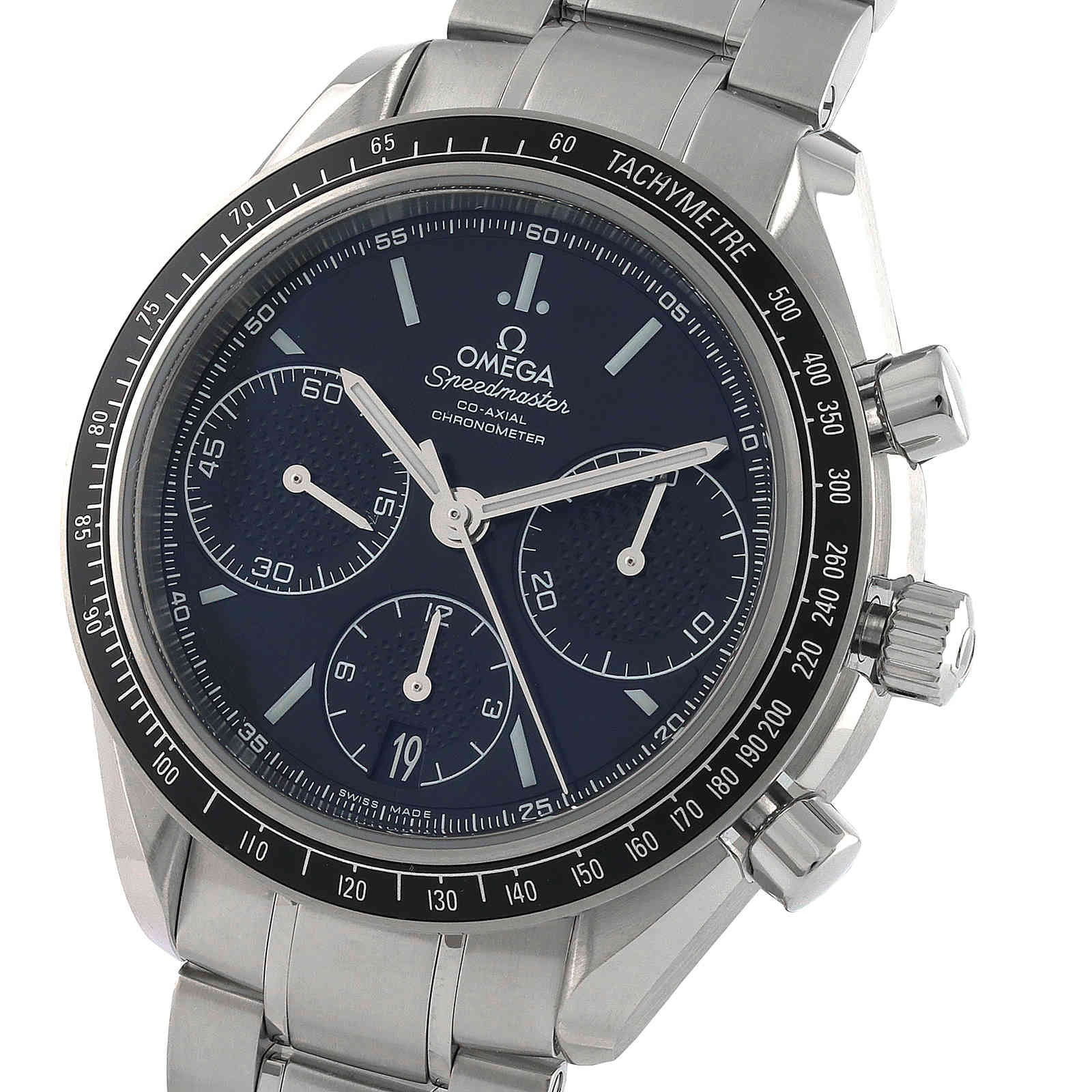 Omega Speedmaster Racing Mens 40mm Automatic Co Axial Mens Watch O32630405001001 Mappin And Webb