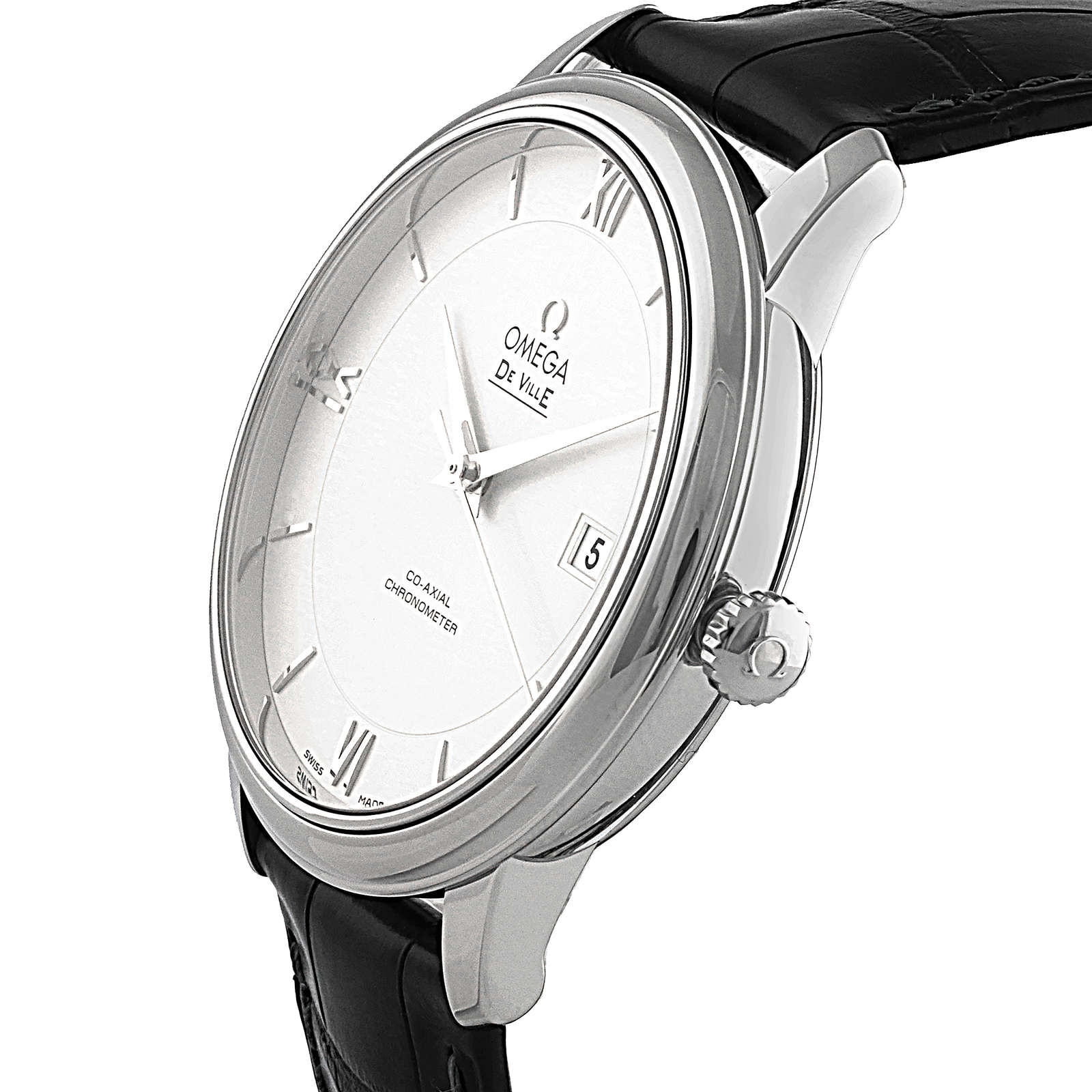 Omega De Ville Mens Co-Axial 39.5mm Automatic Watch