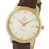 Omega De Ville Prestige Mens 40mm Automatic Co-Axial 18ct Rose Gold Mens Watch