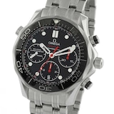 Omega Seamaster 300M Mens Black 41.5mm Automatic Co-Axial Chronograph Mens Watch