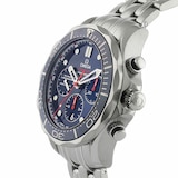 Omega Seamaster 300M Mens Blue 44mm Automatic Co-Axial Chronograph Mens Watch
