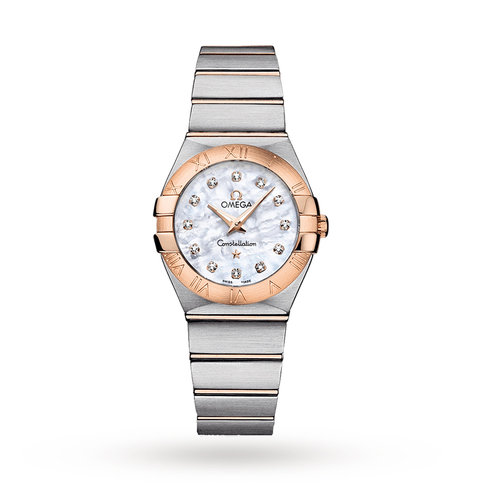 Omega Constellation Ladies Quartz Diamond Dot Watch