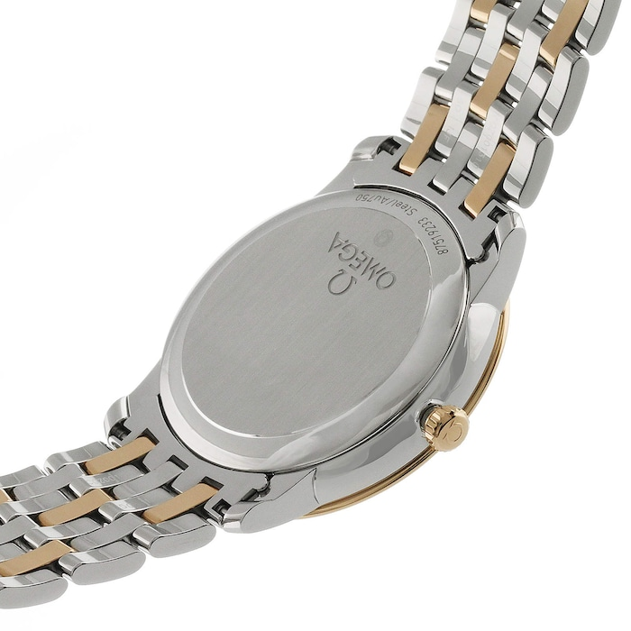 Omega De Ville Mens 37mm Automatic Co-Axial Date Mens Watch