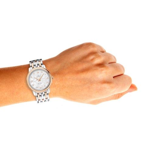 De Ville Prestige Butterfly Bi-Metal Diamond Ladies Watch