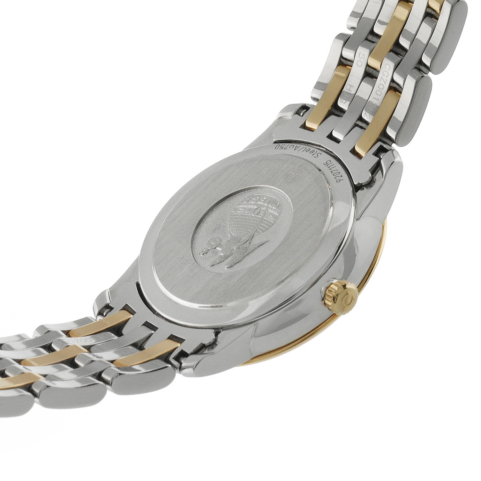 Omega De Ville Prestige Butterfly Bi-Metal Diamond Ladies Watch