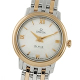Omega De Ville Ladies 24mm Quartz Bicolour Ladies Watch