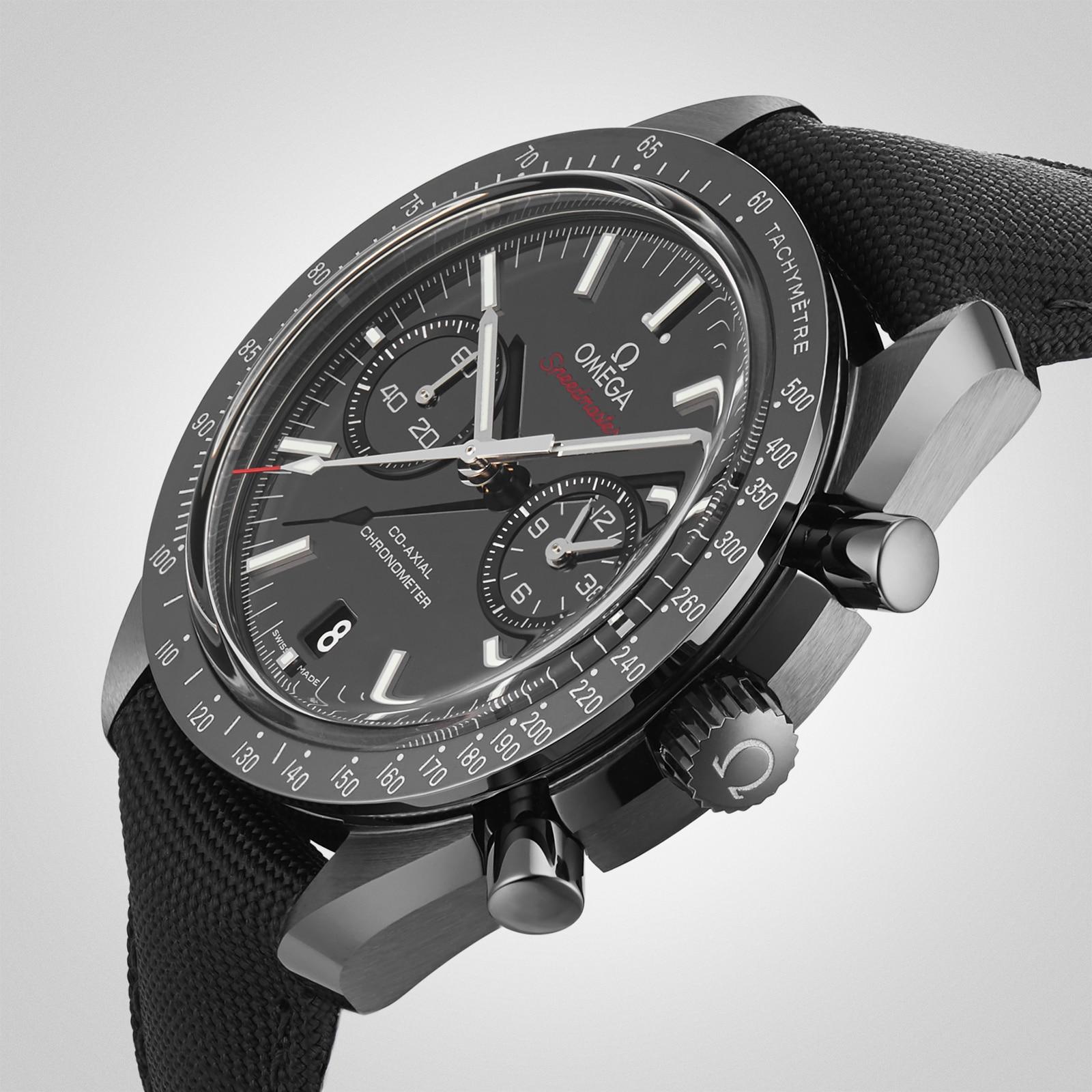 Omega Dark Side of The Moon Mens 44.25mm Ceramic Watch