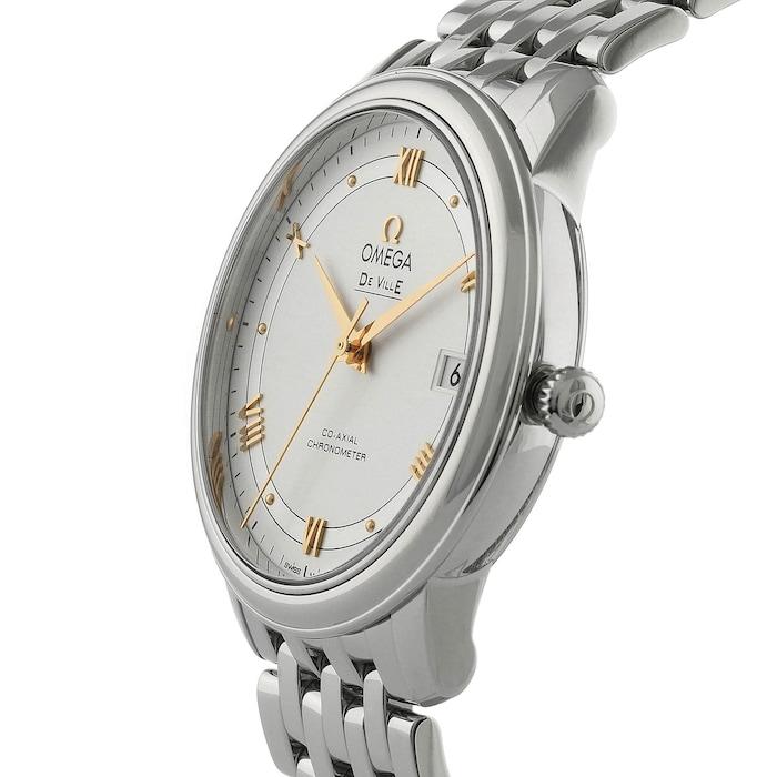 Omega De Ville Prestige Mens 36.8mm Co-Axial Watch