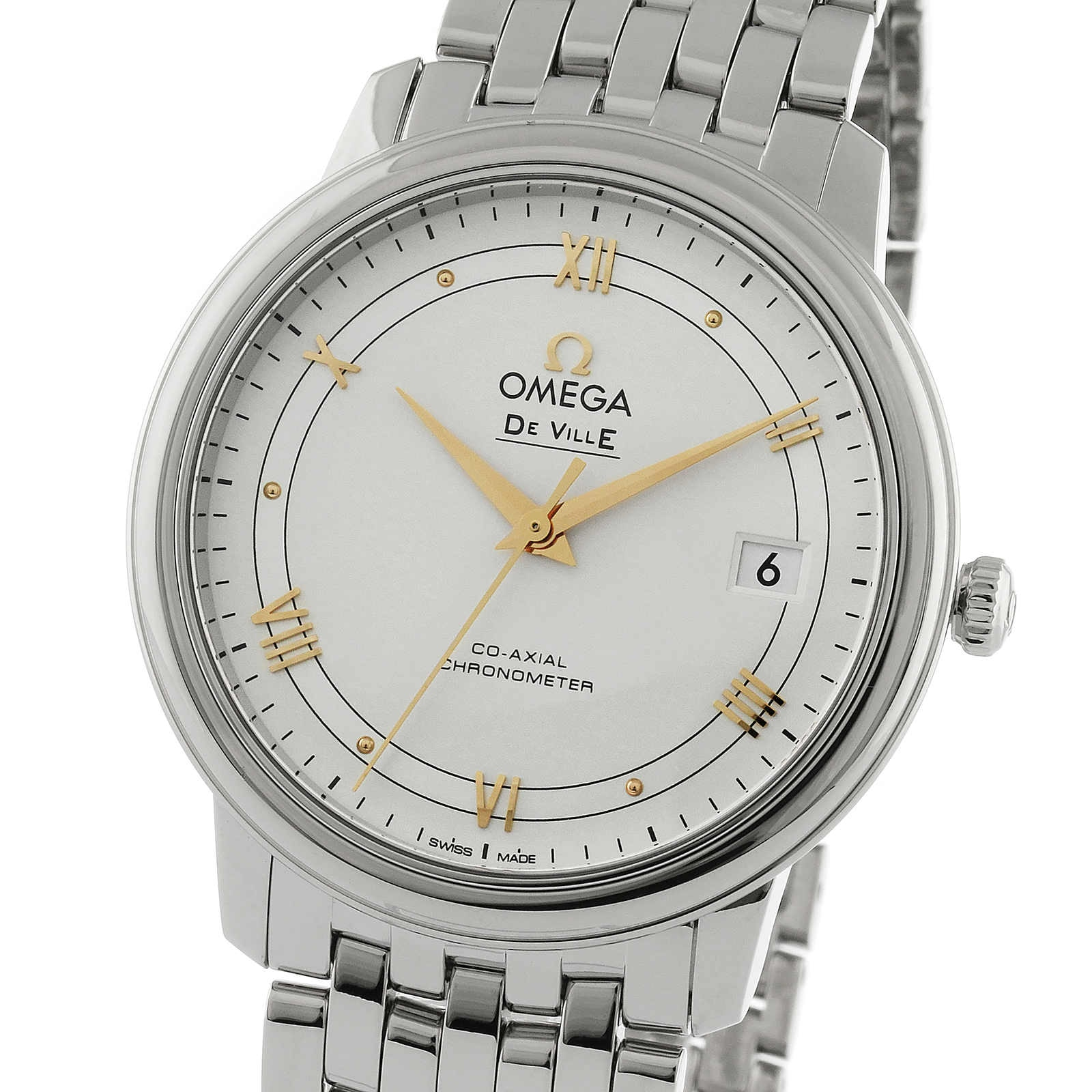 Omega De Ville Prestige Mens 36.8mm Co-Axial Watch