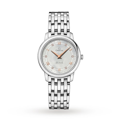 De Ville Ladies 27mm Quartz Stainless Steel Watch