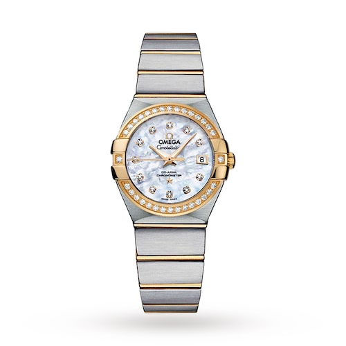 Constellation Ladies 27mm Automatic Co-Axial Diamond Ladies Watch