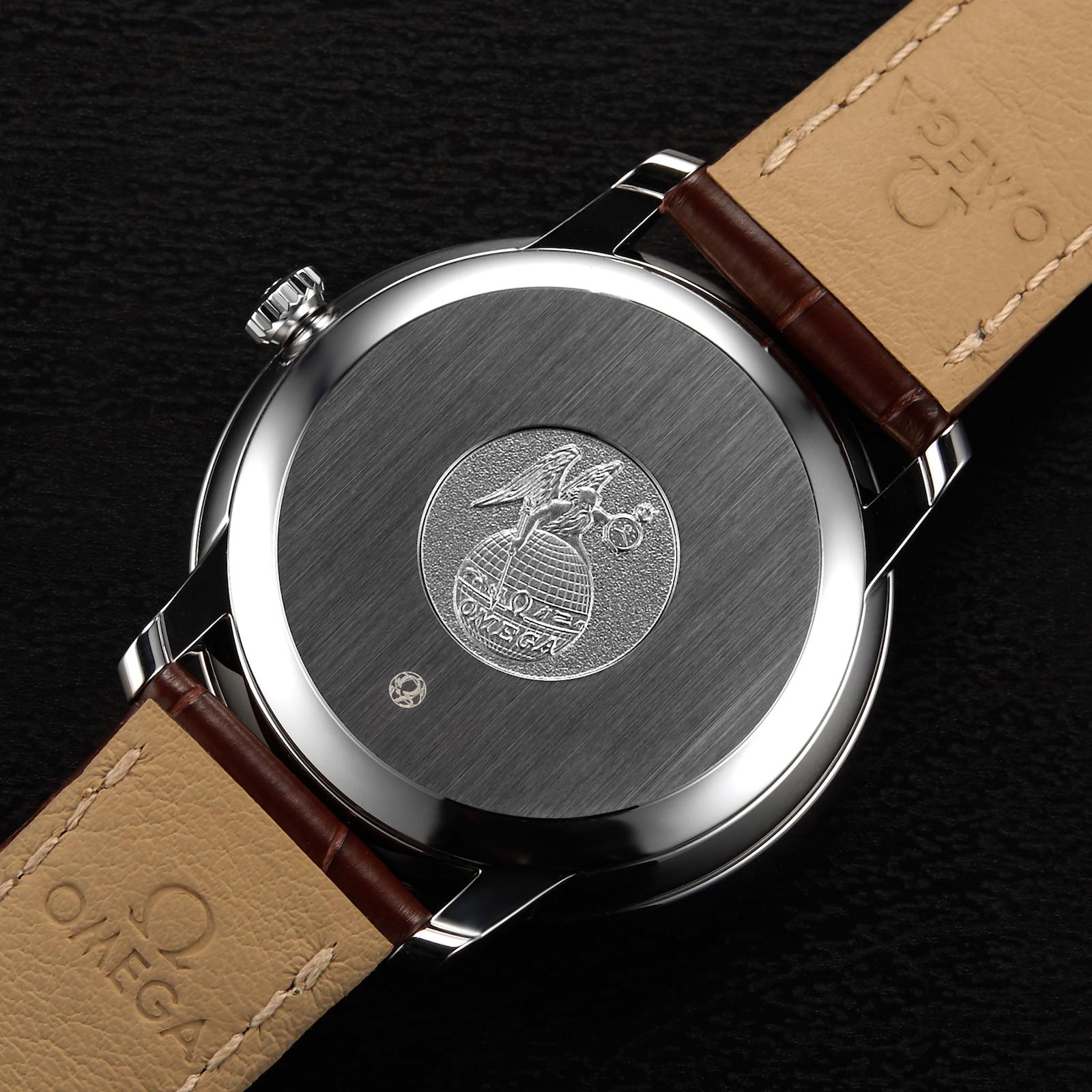Omega De Ville Prestige Mens 39.5mm Automatic Co-Axial Watch