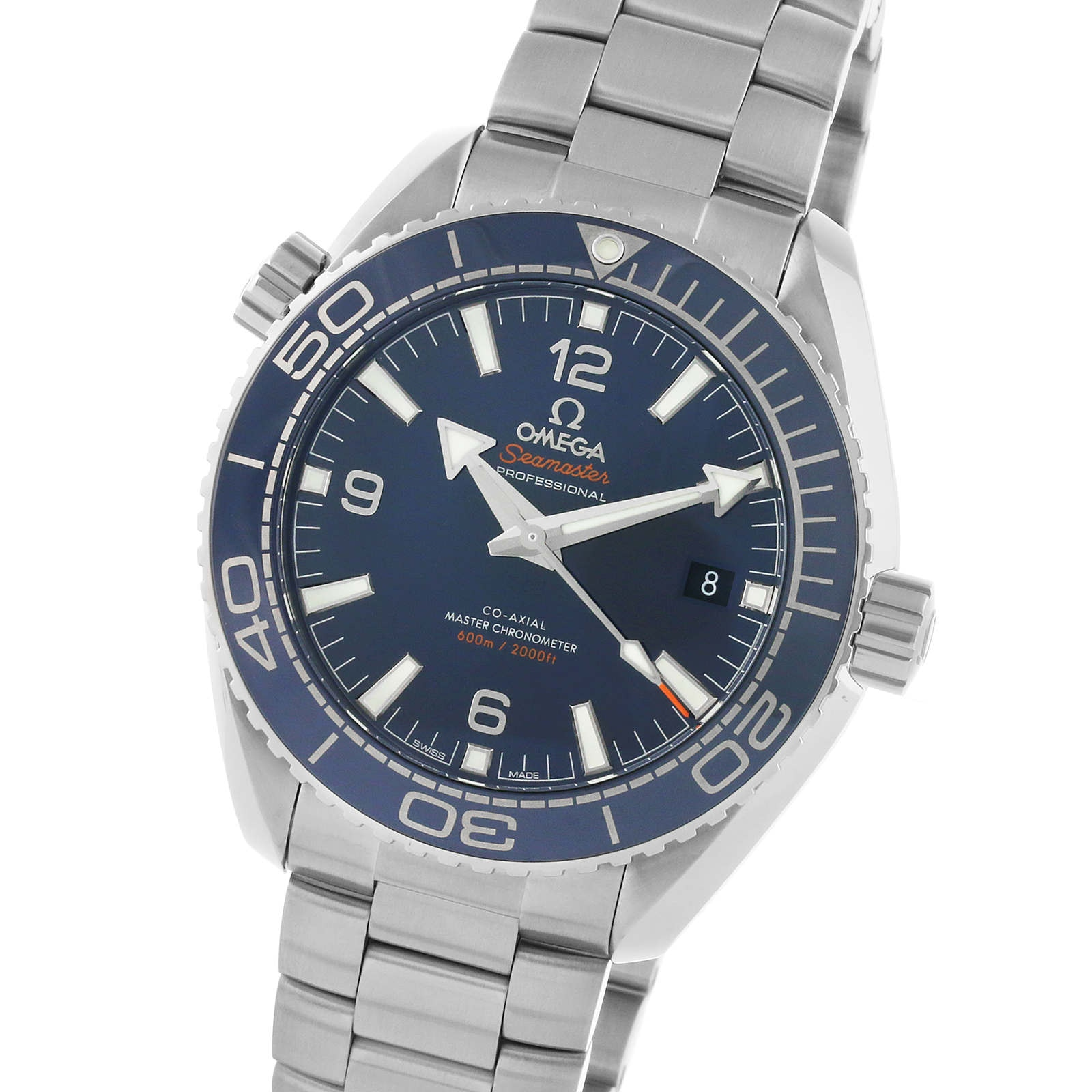 Omega Seamaster Planet Ocean 600M Mens 43.5mm Automatic Co-Axial Divers Watch
