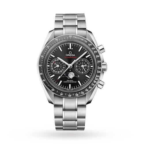 Speedmaster Moonwatch Mens 44.25mm Co-Axial Automatic Moonphase Watch