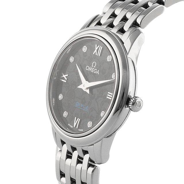 Omega De Ville Orbis Ladies Blue 27.4mm Quartz Ladies Watch