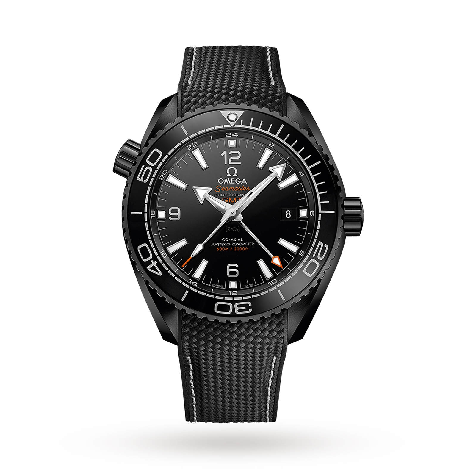 "Omega Seamaster Planet Ocean 600M ""Deep Black"" Mens 45.5mm Automatic Ceramic Divers Watch"