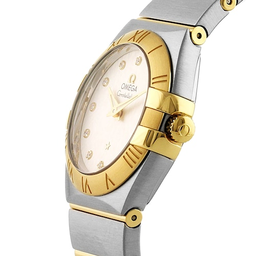 Constellation Ladies 27mm Co-Axial Bicolour Automatic Ladies Watch