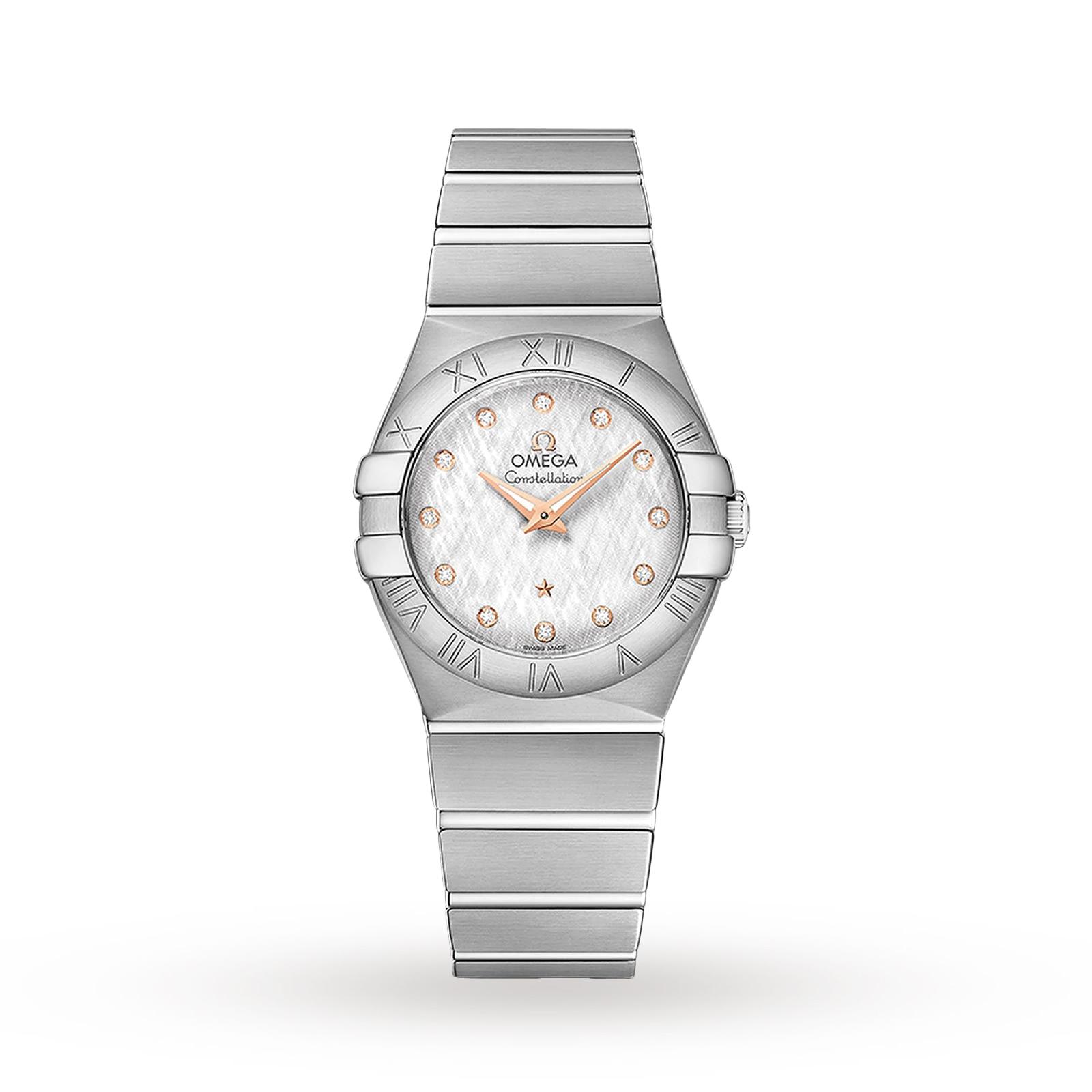 Omega Constellation Ladies 27mm Quartz Watch