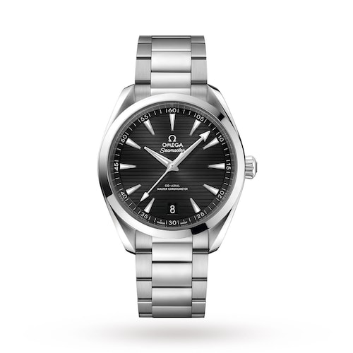 Seamaster Aqua Terra 150M Mens Black Dial 41mm Automatic Co-Axial Watch