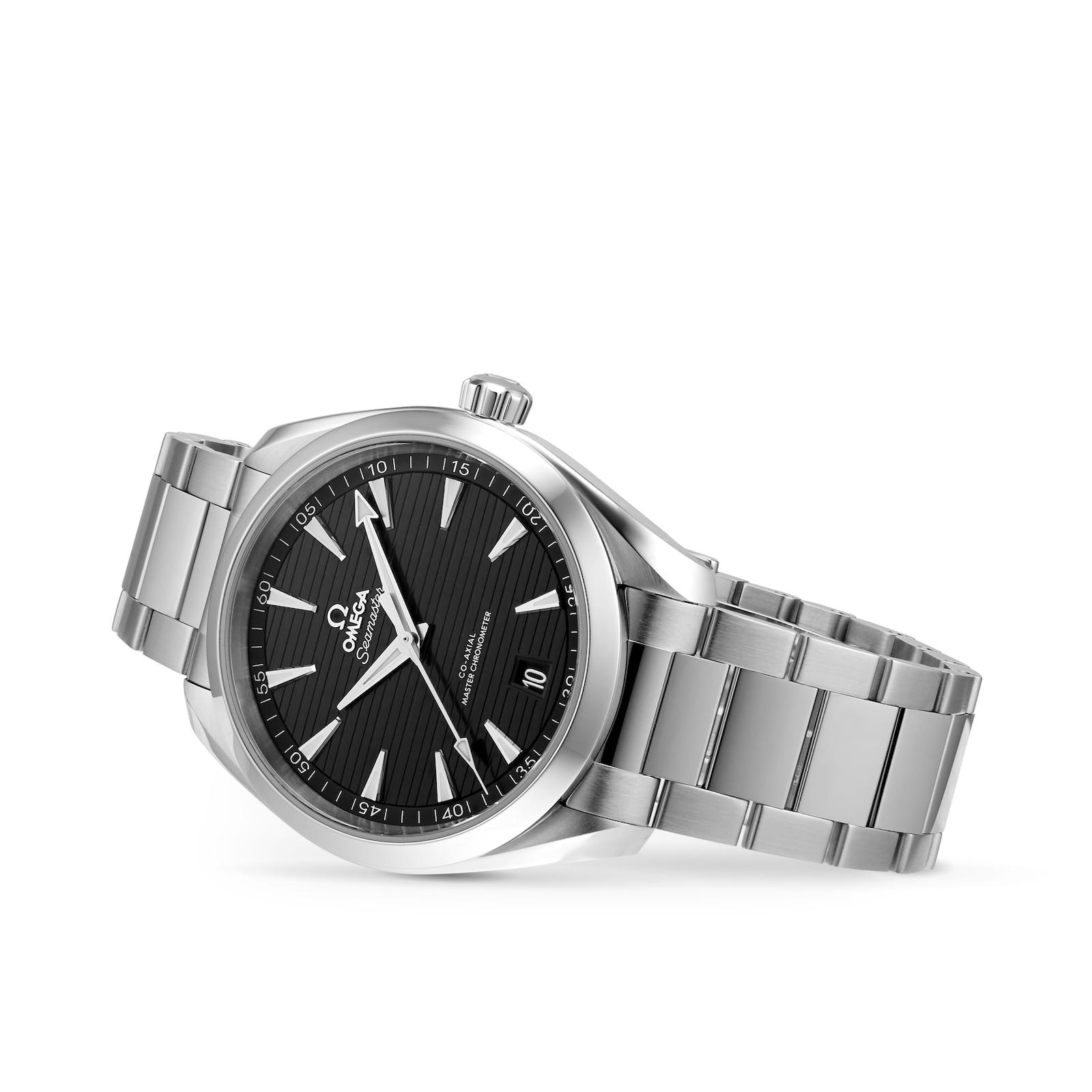 Omega Seamaster Aqua Terra 150M Mens Black Dial 41mm Automatic Co-Axial Watch
