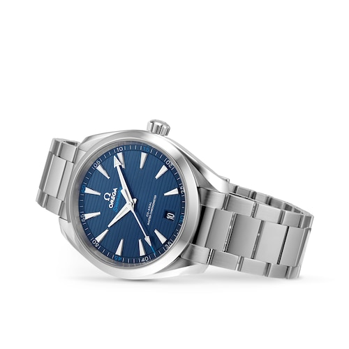 Seamaster Aqua Terra 150M Mens Blue Dial 41mm Automatic Co-Axial Watch