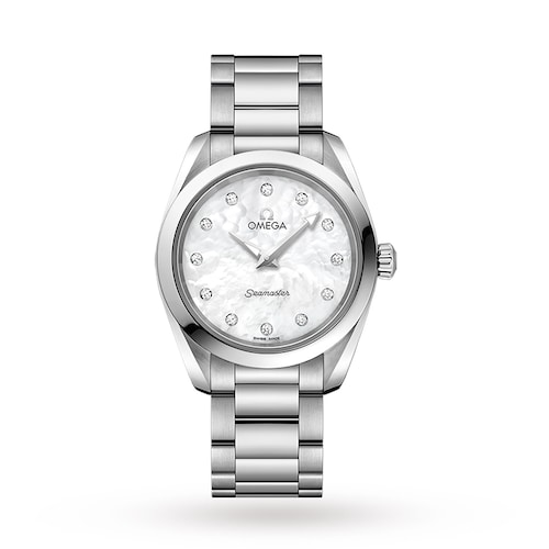 Seamaster Aqua Terra 150M Ladies 28mm Quartz Diamond Dot Watch