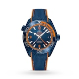 "Omega Seamaster Planet Ocean 600M ""Big Blue"" Mens 45.5mm Ceramic Divers Mens Watch"