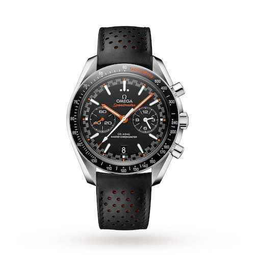 Speedmaster Racing Mens 44.25mm Automatic Co-Axial Watch