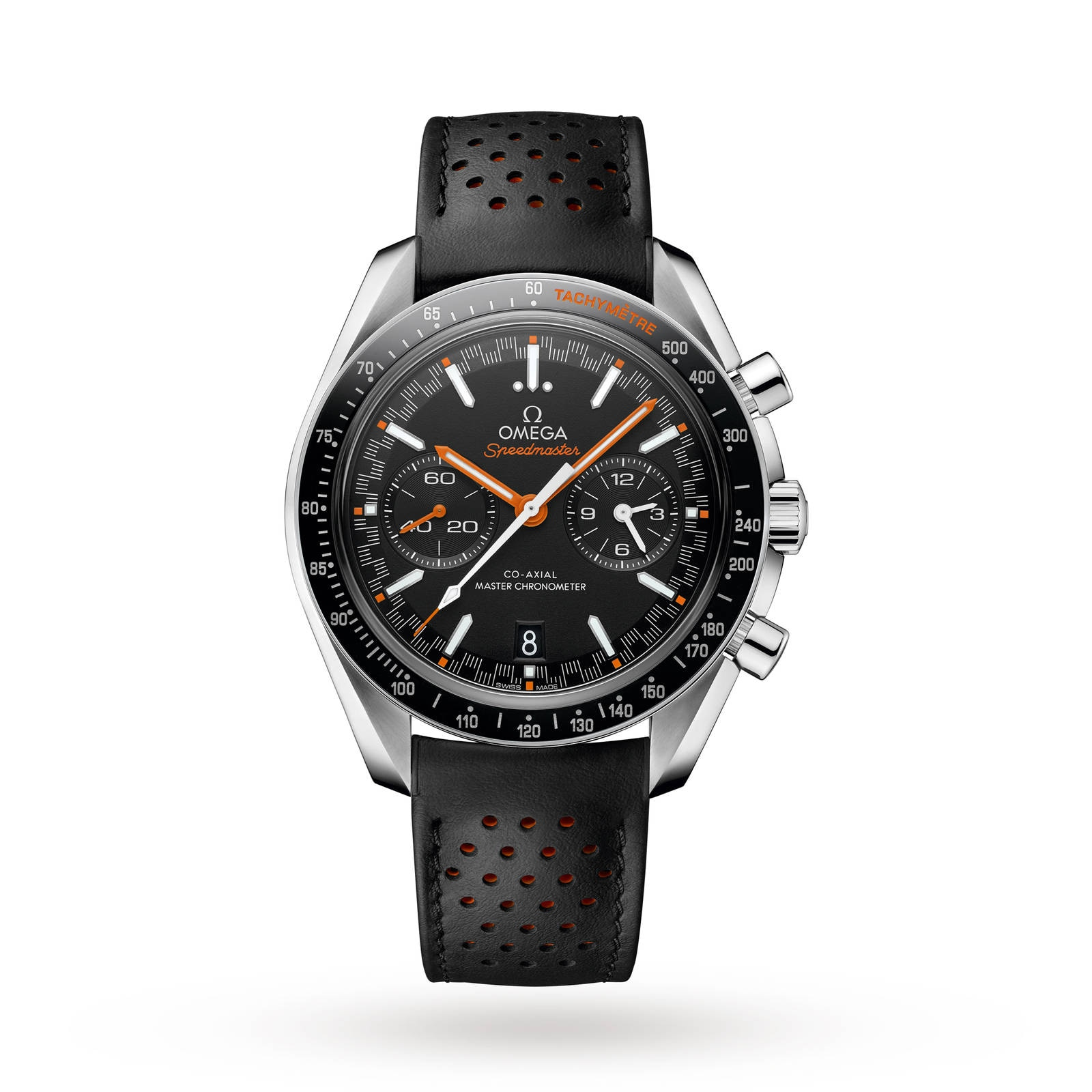 Omega Speedmaster Racing Mens 44.25mm Automatic Co-Axial Watch