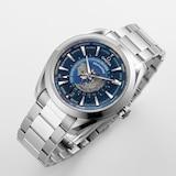 Omega Seamaster Aqua Terra 150m Co-Axial GMT Worldtimer 43mm Mens Watch