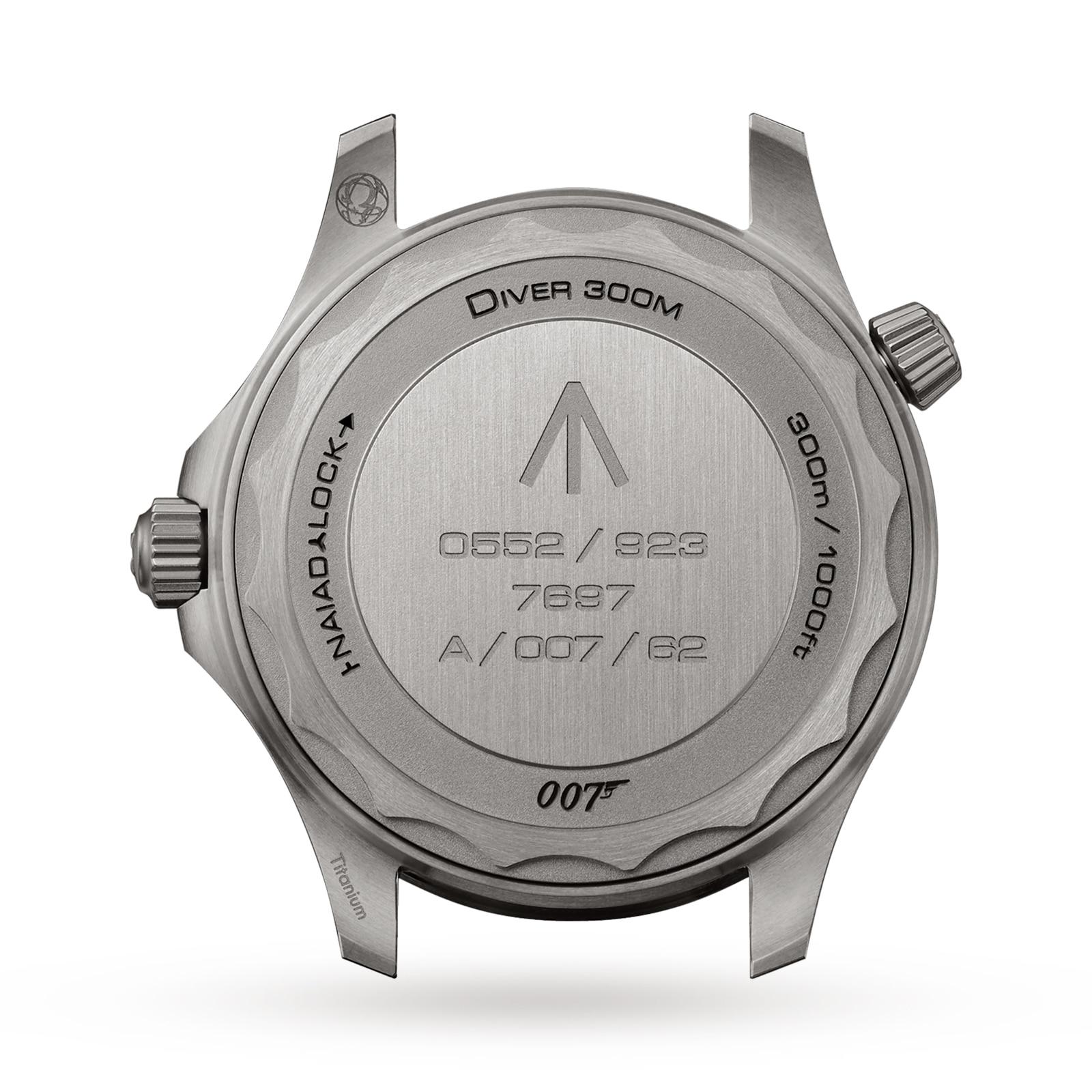 Omega Seamaster Diver 300m James Bond 007 2020 Edition