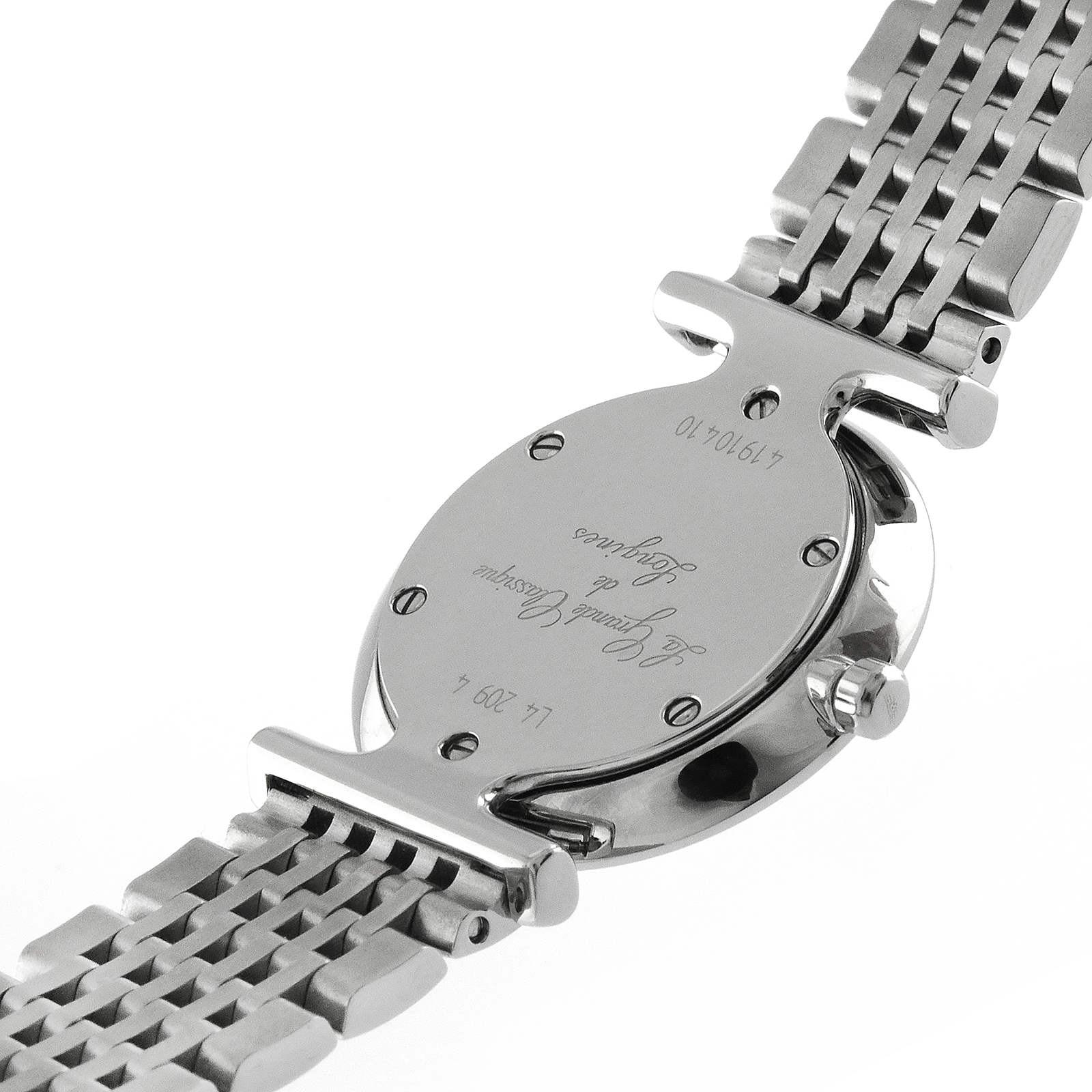 Longines La Grande Classique de Longines 24mm Diamond Dot Quartz Ladies Watch