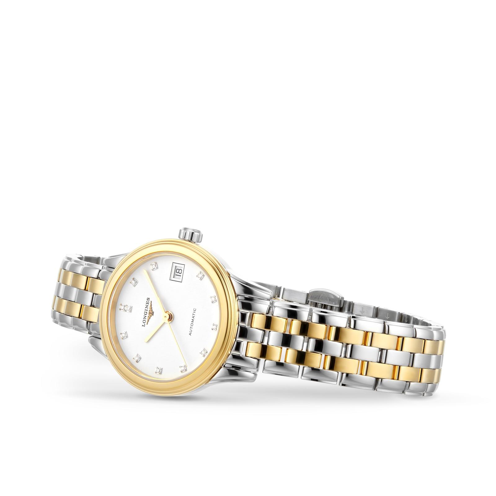 Longines Flagship 26mm Diamond Dot Automatic Ladies Watch