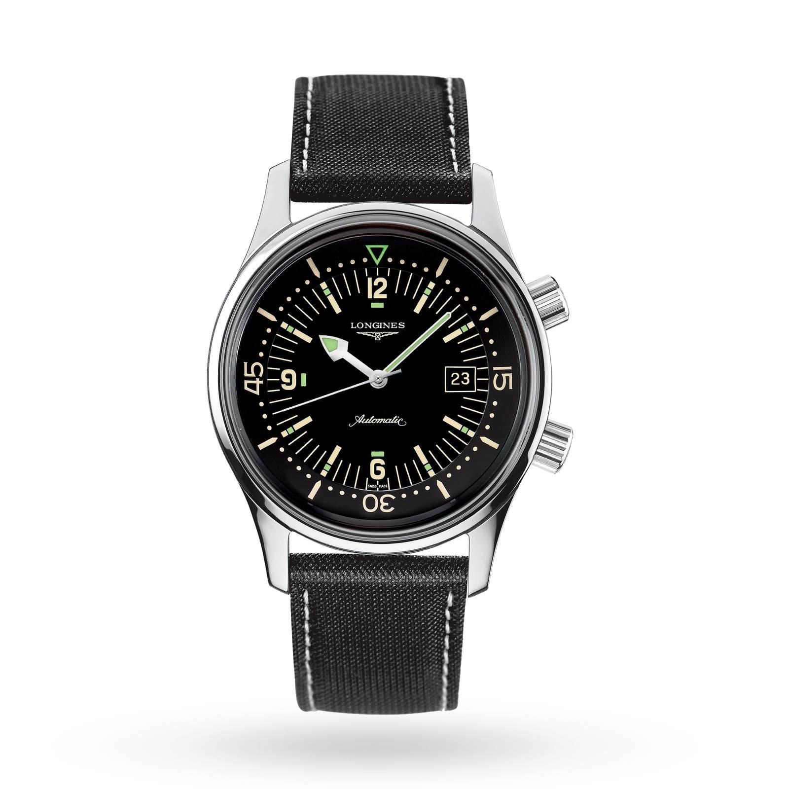 Longines Legend Diver 42mm Automatic Mens Watch